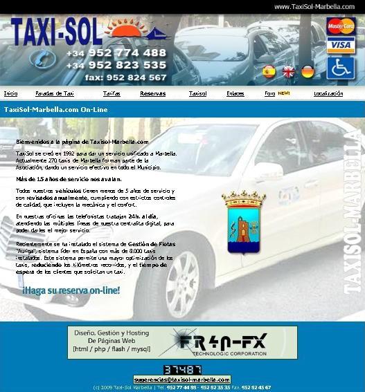Taxisol Marbella 2012